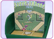 Bases Loaded Carnival Game